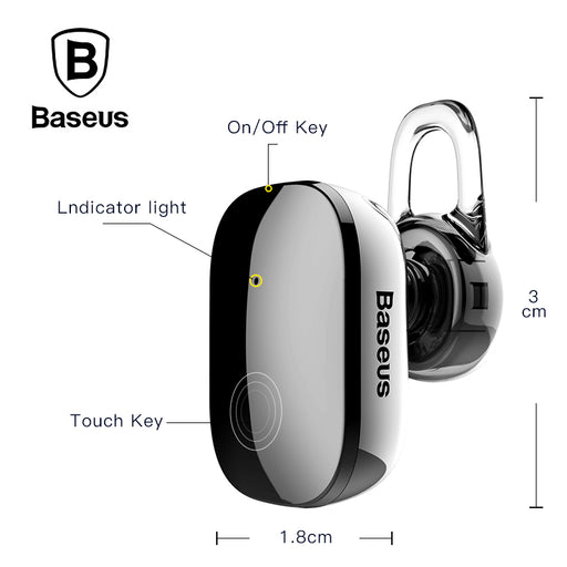Baseus Mini Wireless Bluetooth Earphone - iDeviceCase.com
