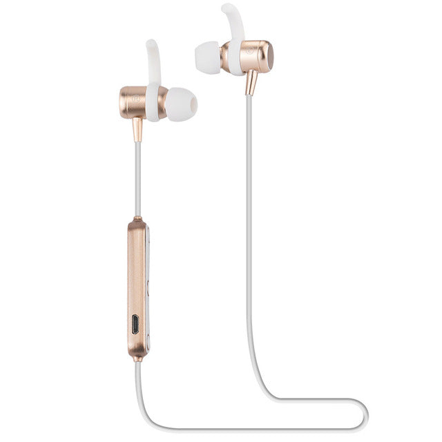 Ubit M2 Smart Magnetic Power on/off Wireless Bluetooth Earphone V4.1 with Mic - iDeviceCase.com