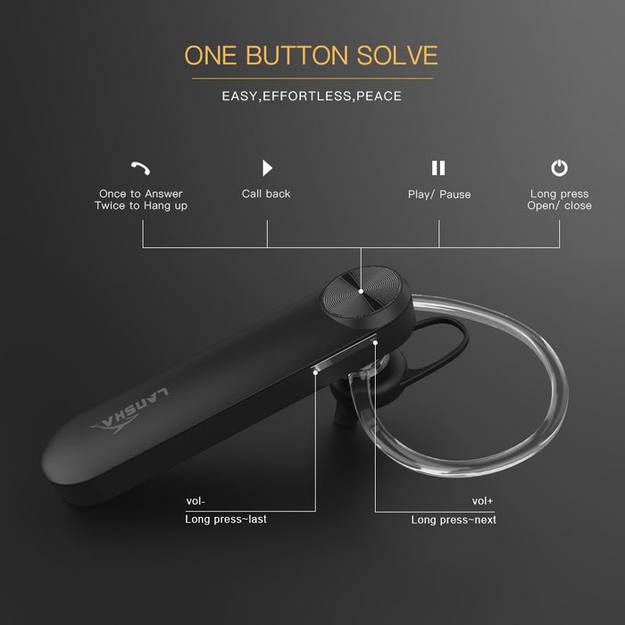 2 piece Mini Portable Handsfree Wireless Bluetooth 4.1 CSR In-ear Earphone Mic Noise Cancelling - iDeviceCase.com