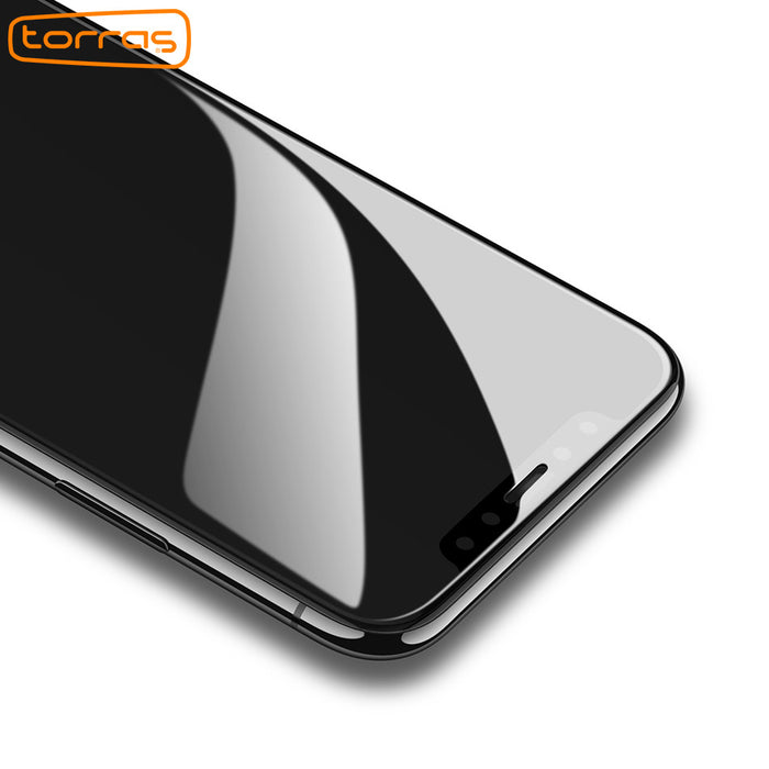 Torras 3D Ultra Thin Transparent Tempered Glass For iPhone X Full Screen Cover Glass Protective Film - iDeviceCase.com