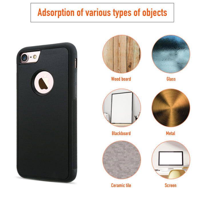 FLOVEME Anti Gravity TPU Case for iPhone 6 6s Plus 7 7 Plus 5 5s SE Funny Phone Case For iPhone X 8 8 Plus Soft Back Cover - iDeviceCase.com