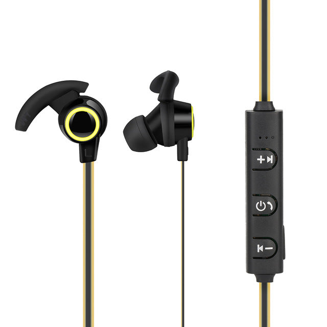 Sports Bluetooth Earphone Bluetooth Headset LED Indicator with Microphone Volumn Control - iDeviceCase.com