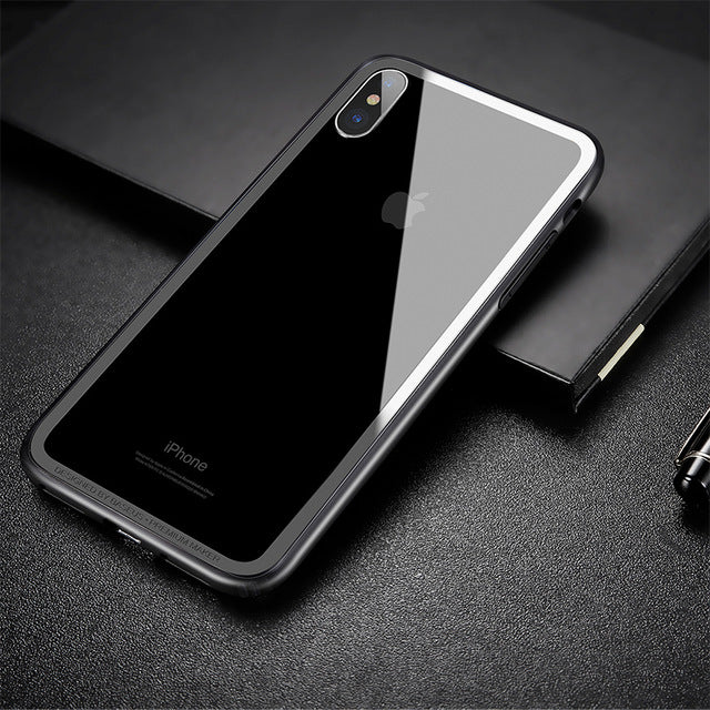 Baseus Bumper Case For iPhone X 10 Shockproof Frame Cover Case - iDeviceCase.com
