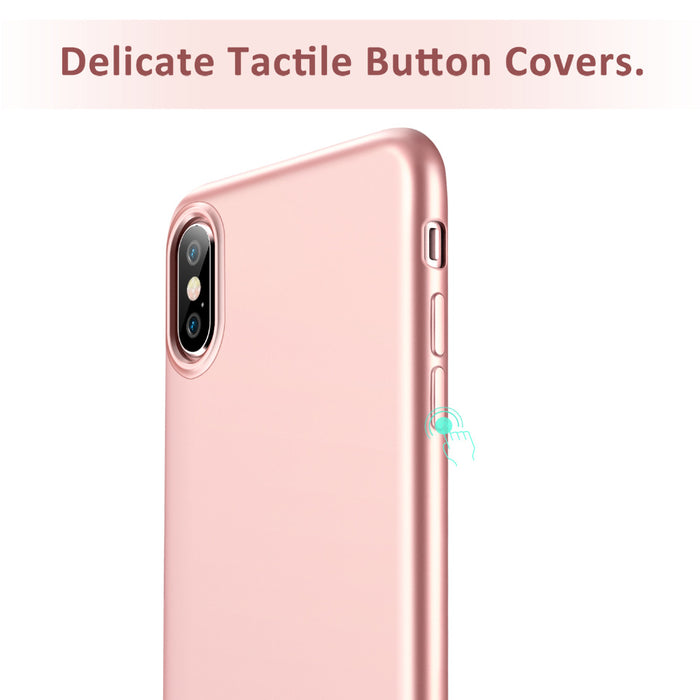 Case for iphone X, ESR Perfect Fit Anti shock Soft TPU Case Ultra Thin Light Weight Protective Cover for iPhone 10 5.8 inch 2017 - iDeviceCase.com