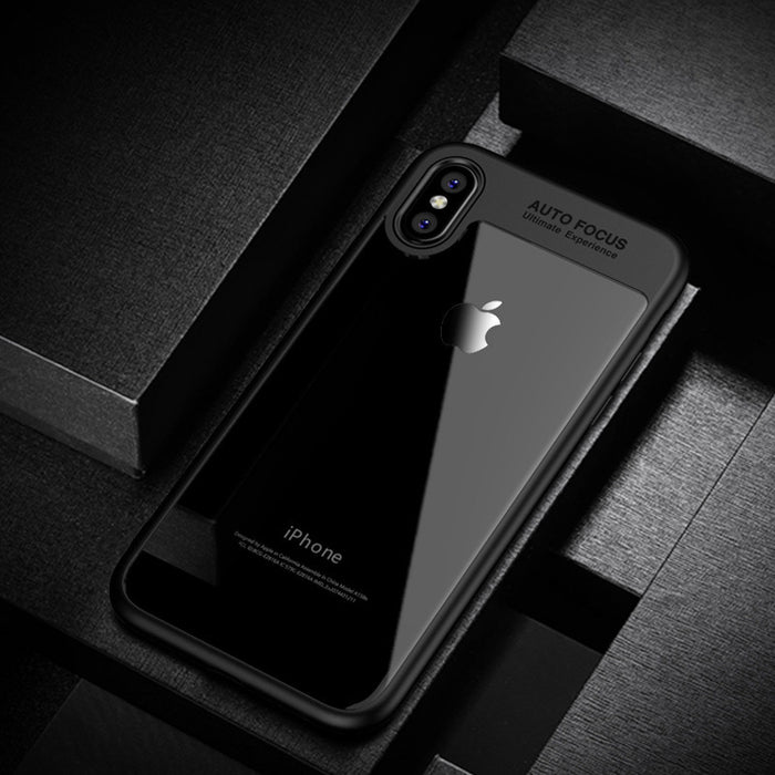 Balleen.E Phone Case For iPhone X 8 7 6 6s Plus Luxury Transparent TPU & Acrylic HD Ultra Slim Cover - iDeviceCase.com