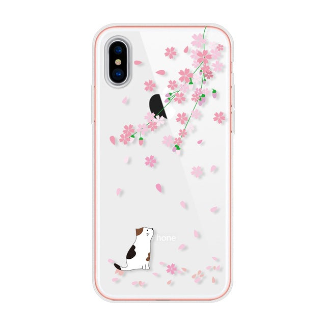 For Apple iphone X Case Ultra-thin Protection Case For iphone X Case Silicone Transparant Soft TPU For iphoneX Cover Shell - iDeviceCase.com