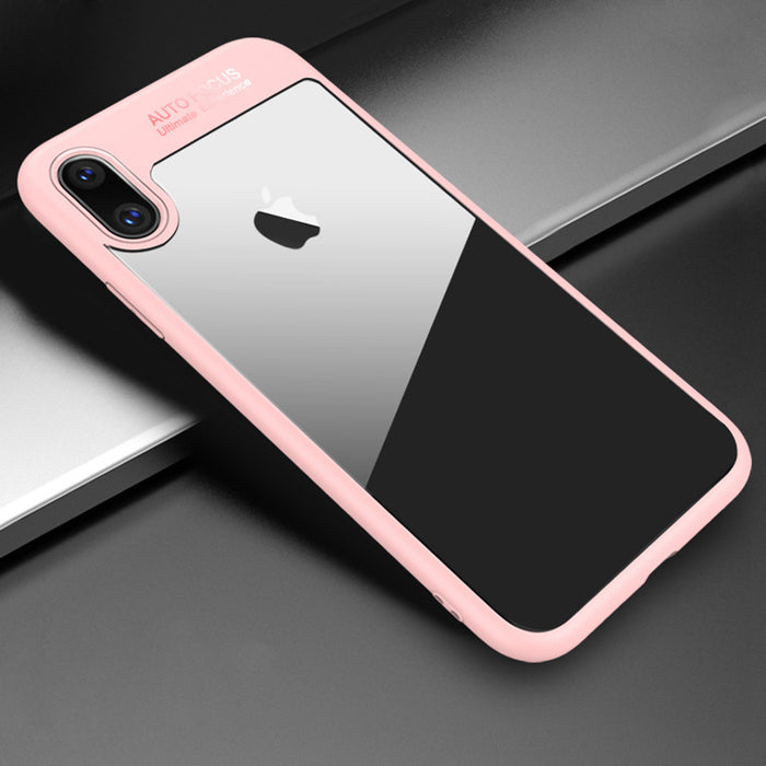 USLION Ultra Thin Clear Armor Phone Cases Soft TPU & Hard PC Transparent Back Cover - iDeviceCase.com