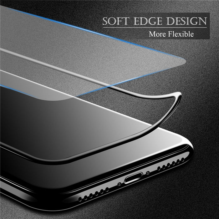 Lovebay 3D Edge Tempered Glass For iPhone X Phone Case Ultra-thin Full Protect 9H Screen Protective Film For iPhone X 5.8 Inch - iDeviceCase.com