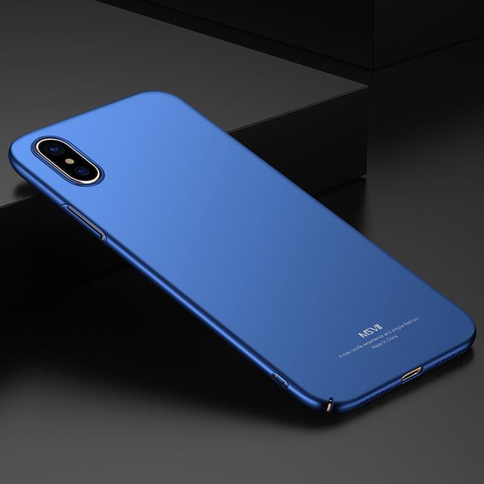 "MSVII Ultra Thin Smooth & Matte Hard Back Cover Phone Cases For Apple iPhone X iPhoneX 5.8"" - iDeviceCase.com"