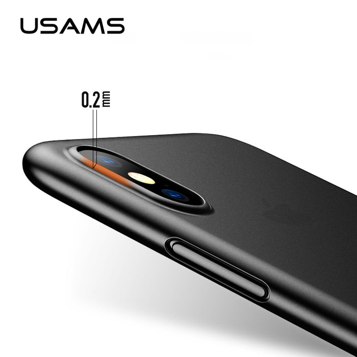 USAMS Original Phone Case Ultra Thin Cute Colors PP Cases Fashion flexibility Back Cover Case - iDeviceCase.com