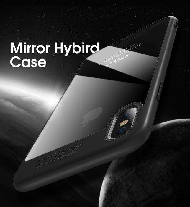 FLOVEME Transparent Case Soft TPU+Hard PC Phone Cases Ultra Thin Shockproof Cover Accessories - iDeviceCase.com
