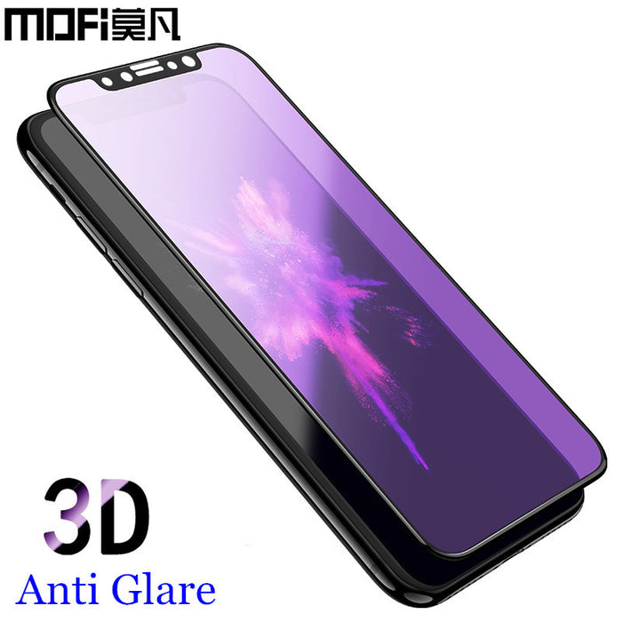 for iPhone x tempered glass 3D full cover screen protector for iPhonex protective film MOFi original for apple iPhone x glass - iDeviceCase.com
