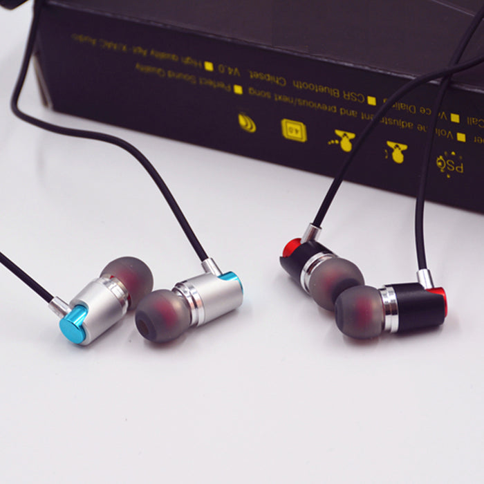 M&J Sport Bluetooth Earphones Sweatproof Wireless Earbuds With Mic Stereo Sound Earphone For Sport Running - iDeviceCase.com