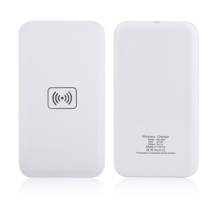 White Qi Standard Wireless Charging Charger Transmitter Pad - iDeviceCase.com