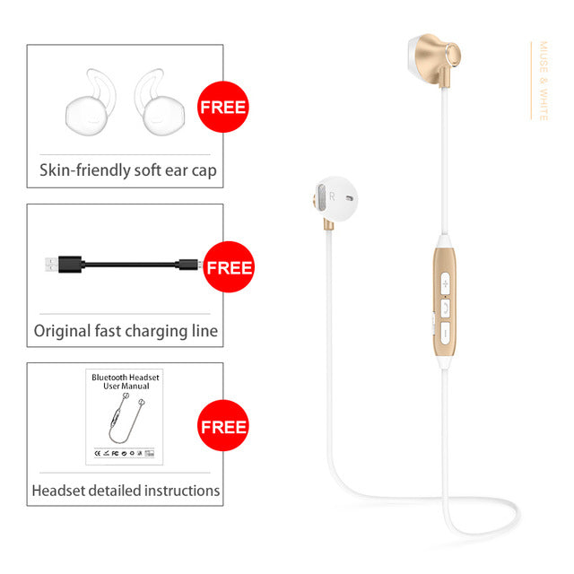 Sound Intone H2 Bluetooth Earphone Auriculare With Mic. Wireless Headsets - iDeviceCase.com
