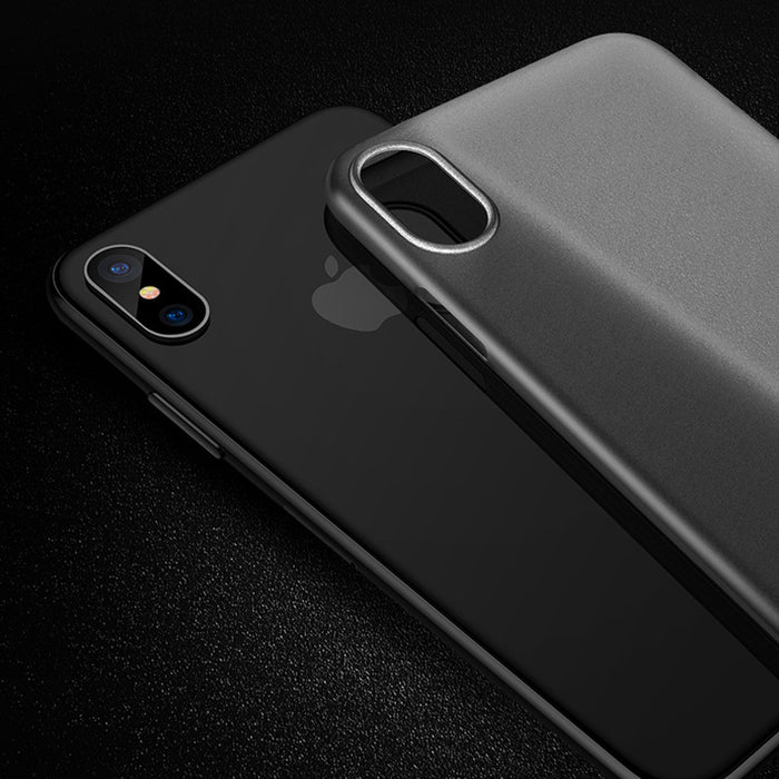 Romiky Slim ultra thin Matte Case For iPhone X 8 7 6 6S Plus 5 5S SE 10 i8 i7 Full Protection Cover Soft PP Cases simple 4 Color - iDeviceCase.com
