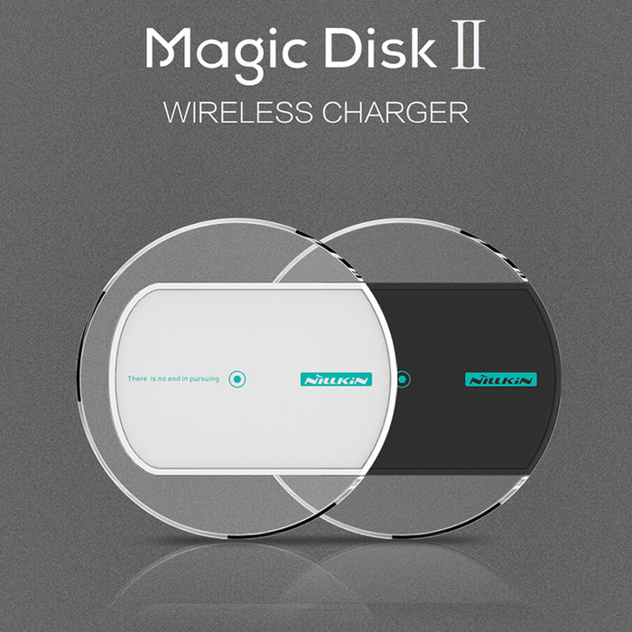 NILLKIN Magic Disc 2 QI Intelligent Wireless Charger Charging Mat Pad - iDeviceCase.com