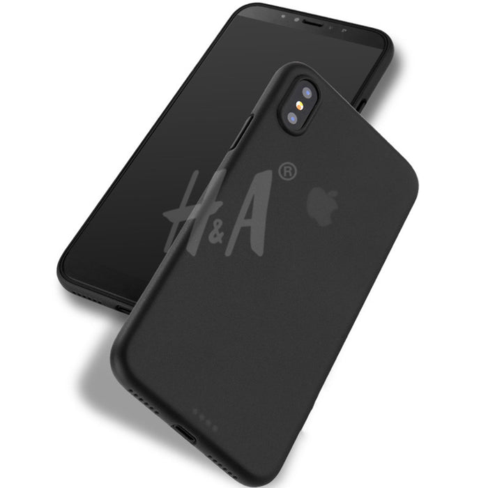 H&A matte phone Case For iPhone X Luxury Hard Back Full Cover cases For Apple iphone X Cover Phone Bag Capa - iDeviceCase.com