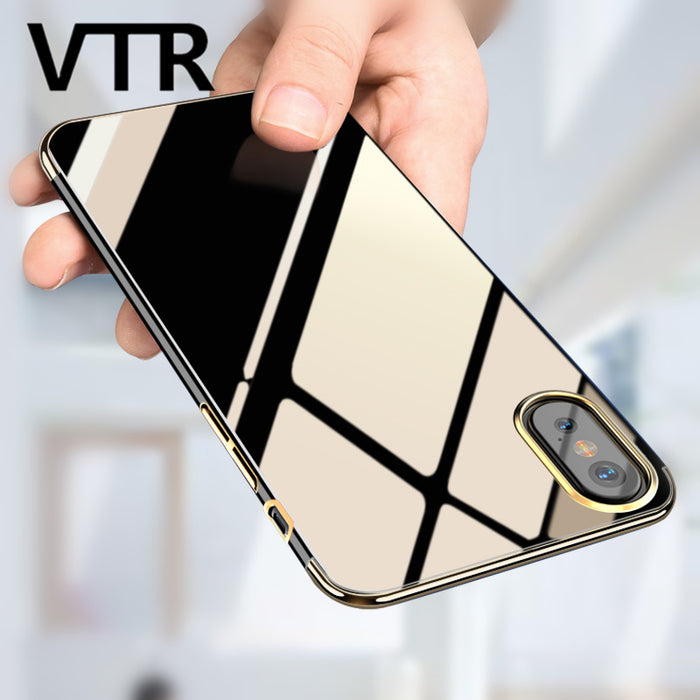 soft transparent case for iphone x full cover tpu shell Ultra Thin phone bag case - iDeviceCase.com