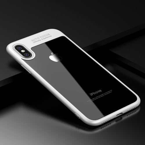 Full Protective TPU & PC Transparent Back Cover Clear Slim Phone Cases iPhoneX Funda - iDeviceCase.com