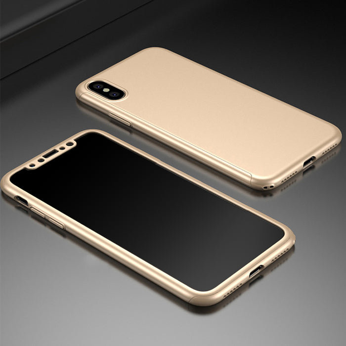 CONNICS 360 Full Coverage Case Fashion Style Anti Slip Phone PC Back Cover Protective Cases - iDeviceCase.com