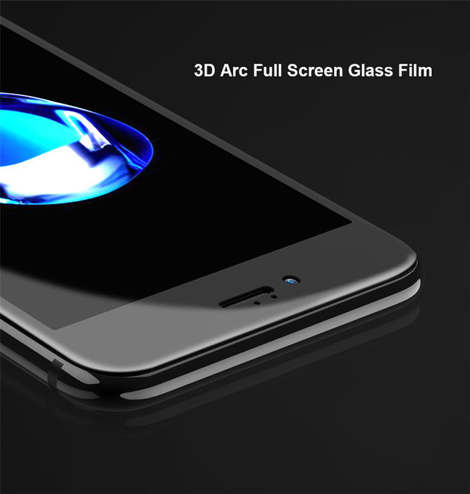 Olaf 3D Soft edge Full Tempered Glass For iPhone 6 6s 3D Curved cover carbon fiber Screen Protector for iPhone 7 7 plus X Glass - iDeviceCase.com