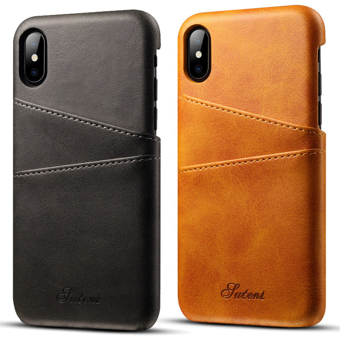 best service 28388 72714 Luxury Leather Wallet Card Case for Apple IPhone X 8 7 Plus 6S ...