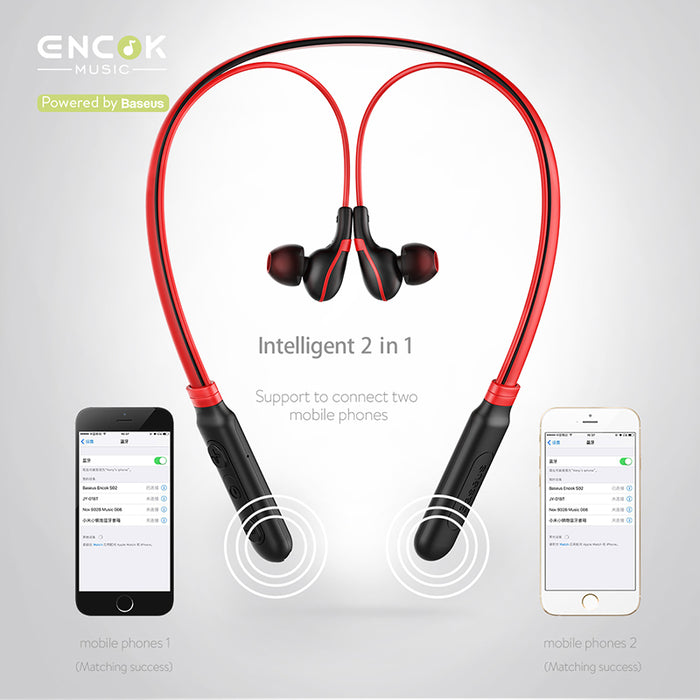 Baseus Bluetooth Earphone In-Ear Wireless Sports Earphones Bass sound Headset with microphone - iDeviceCase.com