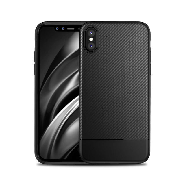 MANTIS Ultra thin Soft TPU Silicone Case For iPhone X Phone Bag Cover Fitted Cases - iDeviceCase.com