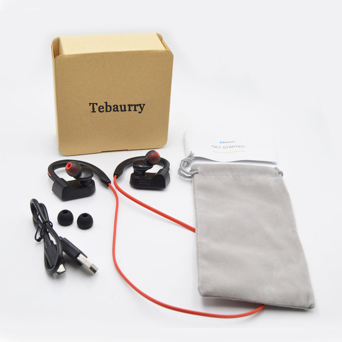 Tebaurry Bluetooth Earphone Sport wireless headphones headset IPX4 earbuds with mic - iDeviceCase.com