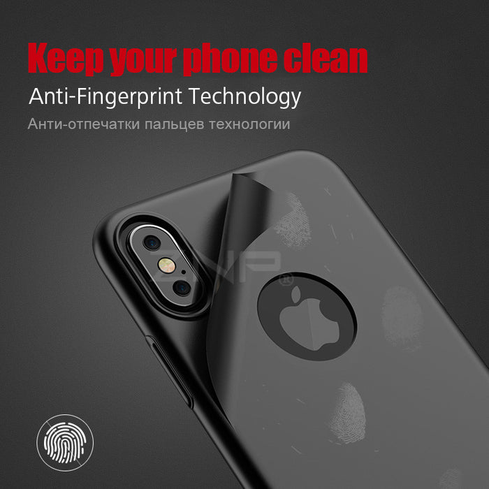 ZNP Luxury Hard Back Plastic PC matte Cases for Apple iPhone X 10 case Full Cover Phone Cases - iDeviceCase.com