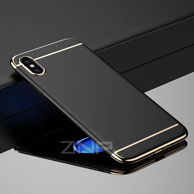 ZNP 360 Luxury Ultra Thin Shockproof Cover Cases for iPhone x 10 case PC Plastic Phone Cover - iDeviceCase.com