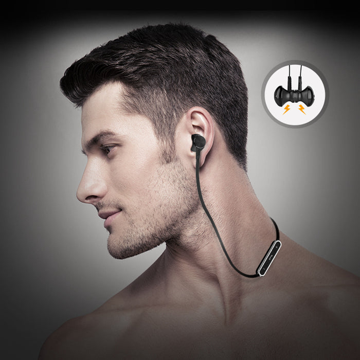 Langsdom Sport Bluetooth Earphone Metal Wireless Earbuds Headset Bluetooth Stereo Earphones with - iDeviceCase.com