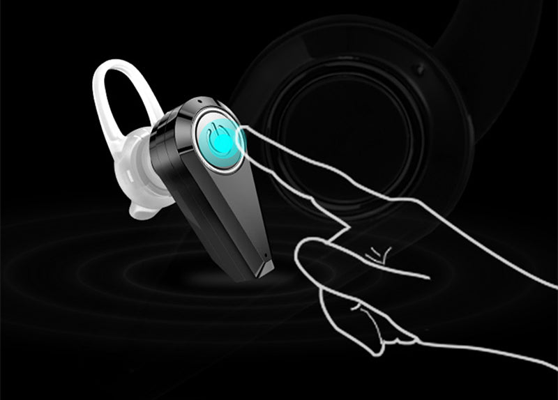New Mini Bluetooth Earphones Wireless Headset Invisible Noise Cancelling Wireless Tiny Earbuds - iDeviceCase.com