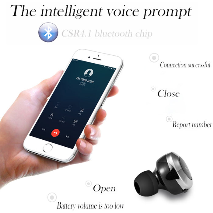 Civetman Wireless Bluetooth earphone invisible in Ear Bluetooth earbuds mini - iDeviceCase.com