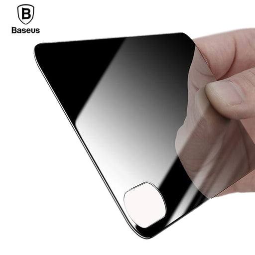 Baseus Back Screen Protector Tempered Glass For iPhone X 10 3D Curved Anti-scratch Protective Film - iDeviceCase.com