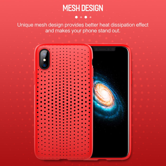 Rock Breath Phone Case For iPhone X Luxury Thin Slim Phone Shell Coque Fundas Soft TPU Cover Case For iPhoneX Capinhas - iDeviceCase.com