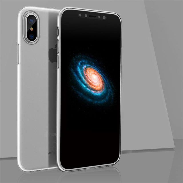ROCK Slim Case for iPhone X Coque Full Protective Phone Bag Shell Back Capa for iphon Drop Protection Shell - iDeviceCase.com