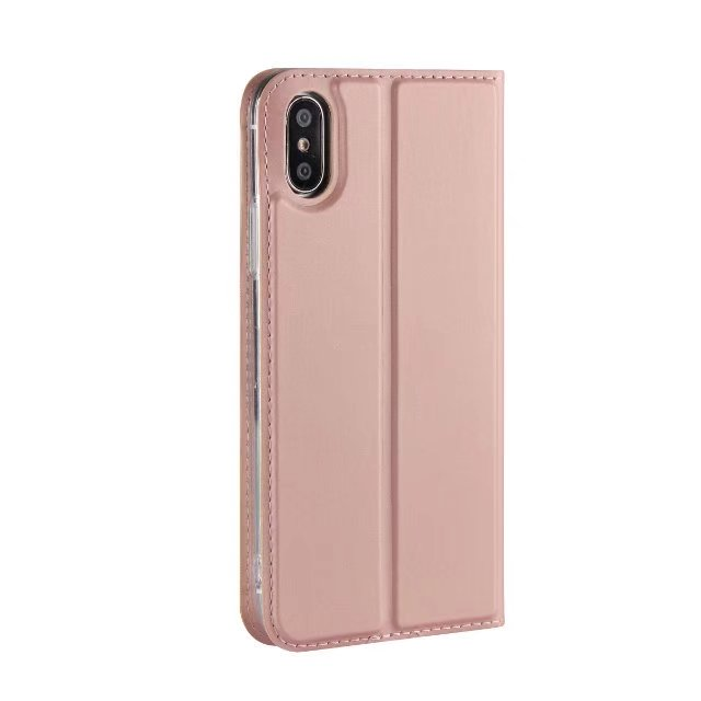 Luxury Book style Leather Case For Apple iphone X iphone 10 Magnetic Wallet Protective Case Flip Cover - iDeviceCase.com