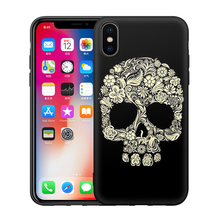 EiiMoo Case Cover For Apple iPhone X Cute 3D Cartoon Soft Silicone Back Cover Fundas Luxury - iDeviceCase.com