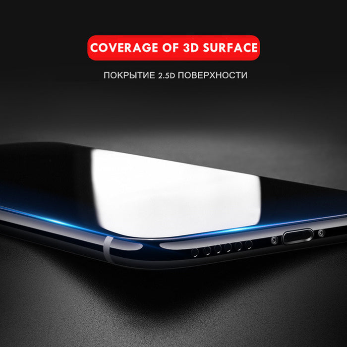 3D Round Curved Edge Tempered Glass full cover Screen Protector Film - iDeviceCase.com
