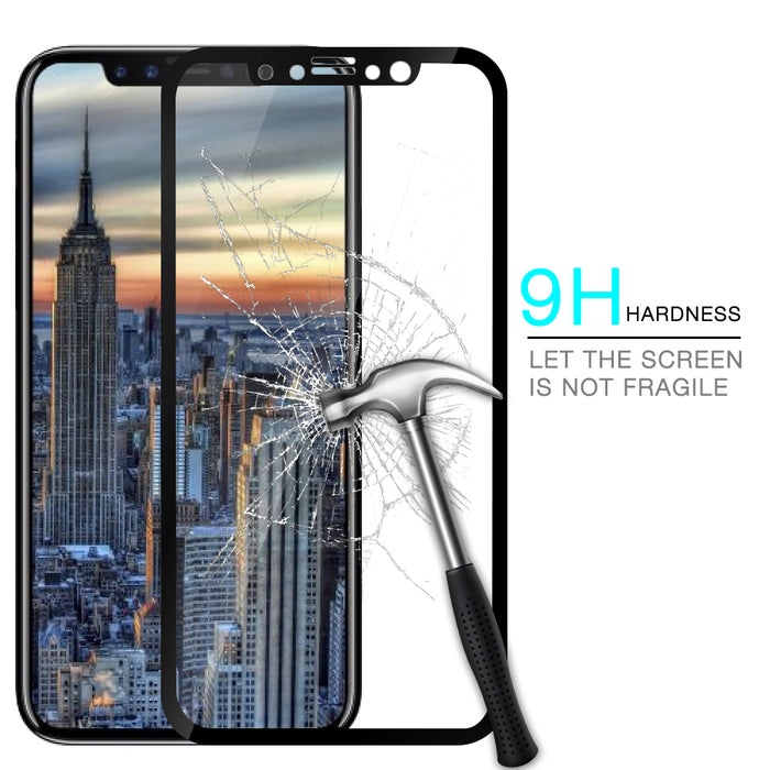 AXBETY For Apple iPhone X 5D Tempered Glass Screen Protector For iPhone X Glass Explosion Proof Film - iDeviceCase.com