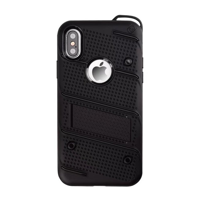 NiceKing TPU + PC Full Coverage Hard Back Cover Stand Armor Case - iDeviceCase.com