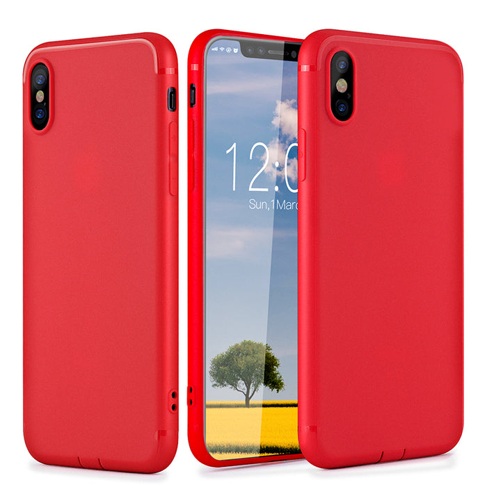 For iPhone X Luxury Case For iPhone x 10 Ultra Thin Slim PC TPU - iDeviceCase.com