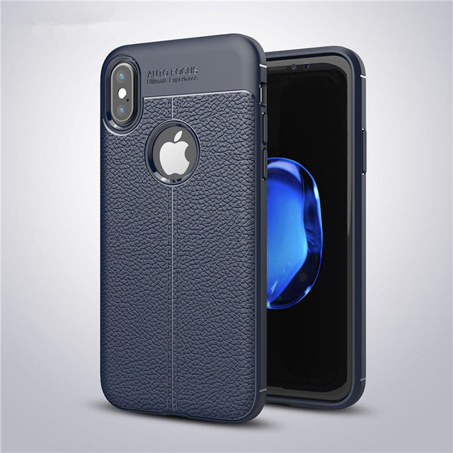 Ultra Thin Shockproof Armor Cover Leather Carbon Fiber Coque Cover Luxury Full Cover Thin TPU P20 - iDeviceCase.com