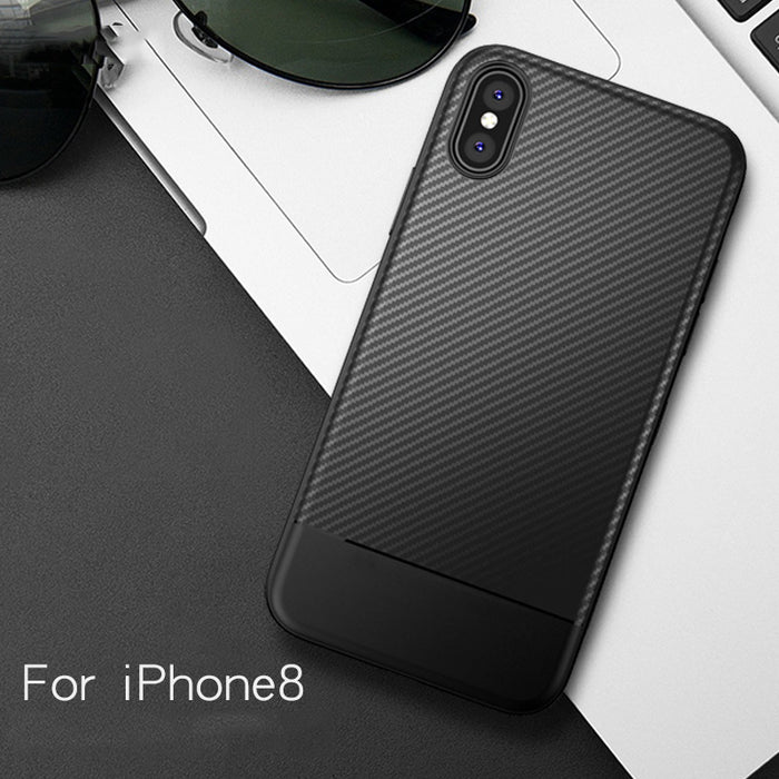 "DATTAP Original Cover for Apple iPhone X Case Carbon Fiber Soft TPU Silicone Case For iPhone 8 Phone Cases Bags For iPhoneX 5.8"" - iDeviceCase.com"