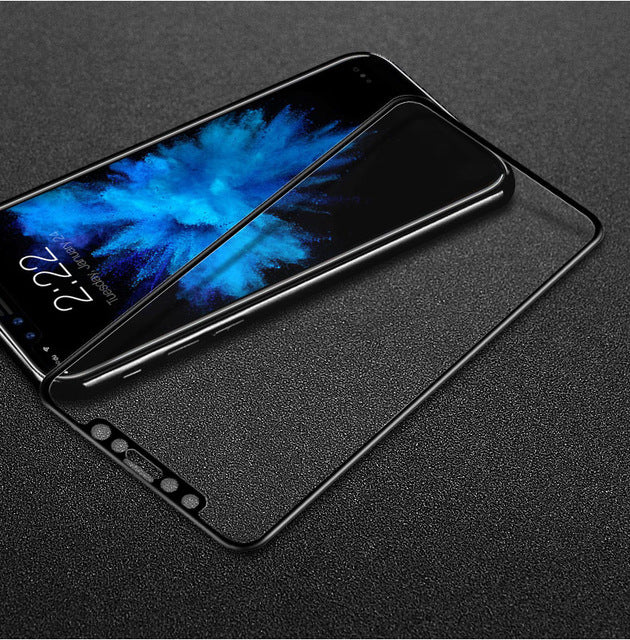 For iphone X Glass Tempered Imak Full Screen Cover Screen Protector For iphone X Protective Glass - iDeviceCase.com
