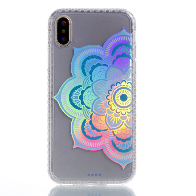 Lekaari TPU Case For iPhone 7 Plus 8 6 5 S X Colorful Case - iDeviceCase.com