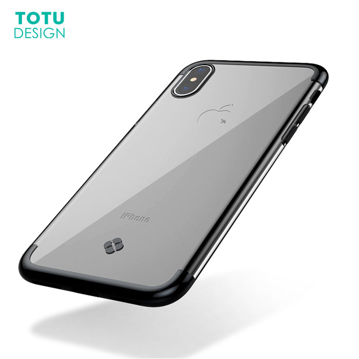 TOTU Luxury Plating Case Capinhas Ultra Thin Electroplating Soft TPU Back Cover Case - iDeviceCase.com