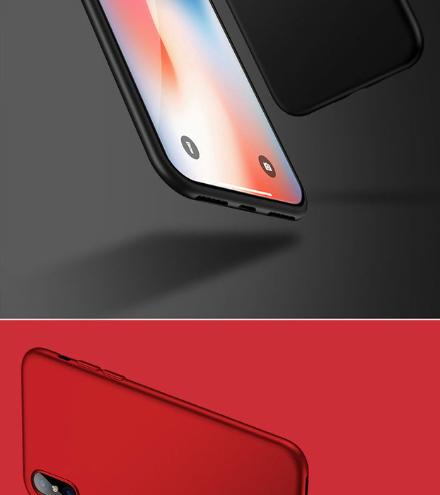 Luxury Matte Soft Ultra-thin Back Full Case For iPhone 6 6s 7 8 Plus Case TPU Protective Shell Cover For iPhone 6 7 plus X Case - iDeviceCase.com